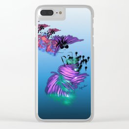 Fashion models dancing in colorful party dr Clear iPhone Case