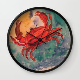 Cancer, the astrological sign Wall Clock