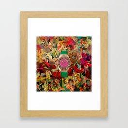 Pin-up Time Framed Art Print