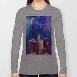 Starry Night Los Angeles Long Sleeve T-shirt