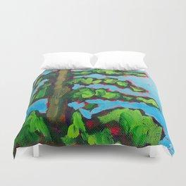 Evergreen Tree Duvet Cover