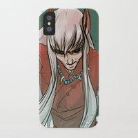inuyasha iPhone & iPod Cases featuring Inuyasha by LaurenceBaldetti