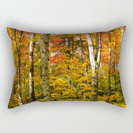 Autumn birches Rectangular Pillow