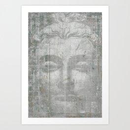 Buddha Painting Art Print