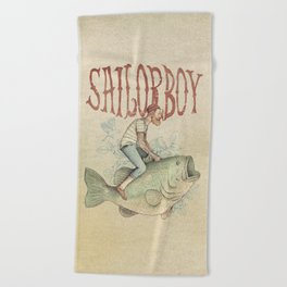 Sailorboy Beach Towel
