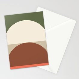 Abstract Geometric 01C Stationery Cards