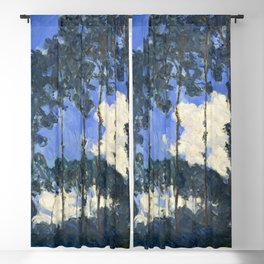 Claude Monet - Poplars on the Epte Blackout Curtain
