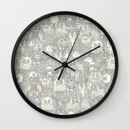 pencil pinatas Wall Clock