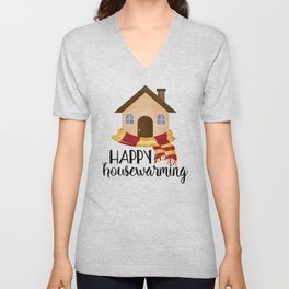 Happy Housewarming Unisex V-Neck