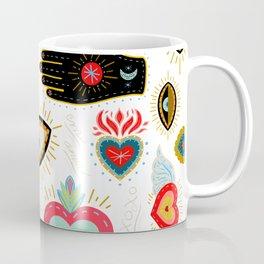 Milagro Love Hearts - White Coffee Mug