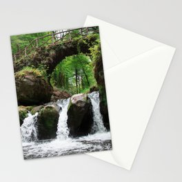 Waterfall in Luxembourg (Mullerthal) Stationery Cards