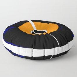 Broken 45 RPM Single Record Floor Pillow