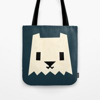 yeti Tote Bags featuring Yeti by Yetiland