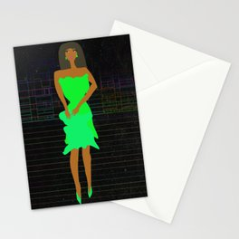 Paper Doll 2 by Kimberly J Graphics Stationery Cards