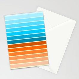Retro lines Stationery Cards