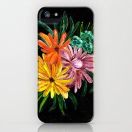Colorful Daisies iPhone Case