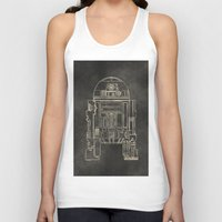 r2d2 Tank Tops featuring R2D2 by LindseyCowley
