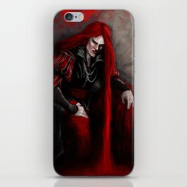 Bloody king Castion iPhone Skin
