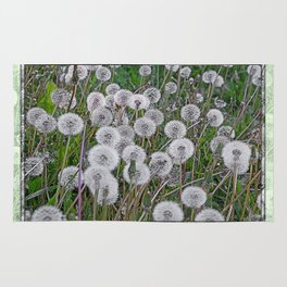 SEEDS OF DANDELION Rug
