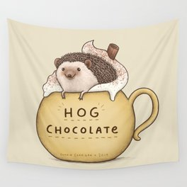 Hog Chocolate Wall Tapestry