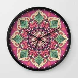 Beautiful mandala design Wall Clock