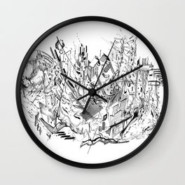 Dynamic Space Wall Clock