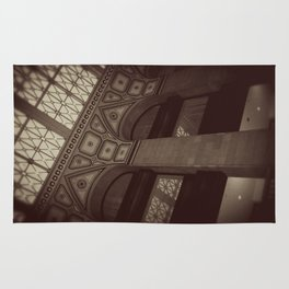 Wintrust Building Columns Original Photo Rug