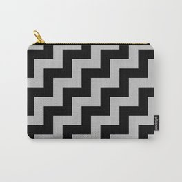 Black and Gray Steps RTL Carry-All Pouch