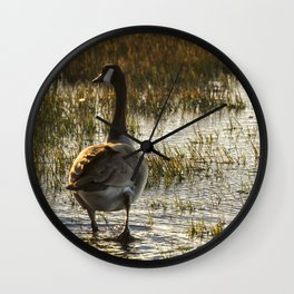 The Golden Goose Wall Clock