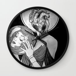 To Follow Your Heart, Abandon Your Head Wall Clock