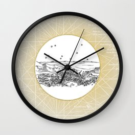 Avalon, Santa Catalina Island, California City Skyline Wall Clock