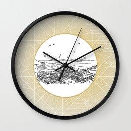 Avalon, Santa Catalina Island, California City Skyline Wall Clock