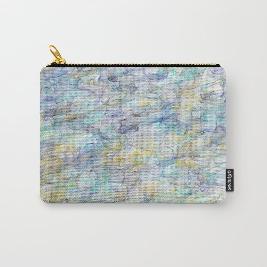 Smoke pattern Carry-All Pouch