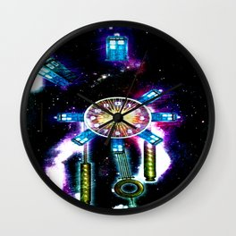 TIME SPACE STATION - 023 Wall Clock
