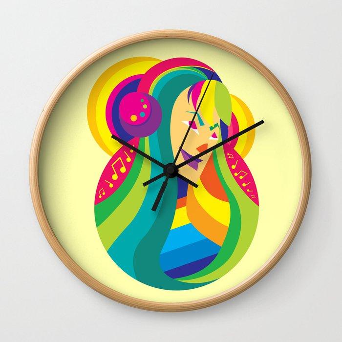 Happy Music - Joy of Life Wall Clock