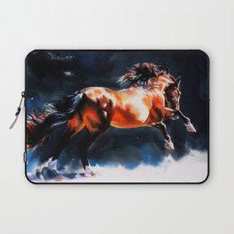 Alive - Exuberant and Powerful Stallion Laptop Sleeve