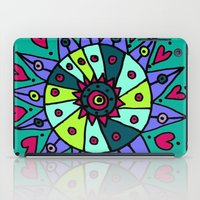 cara iPad Cases featuring Cara Blue by Ellie And Ada