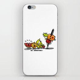 Pen apple pineapple pen iPhone Skin