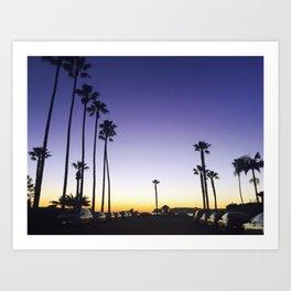 CALIFORNIA GOLD Art Print