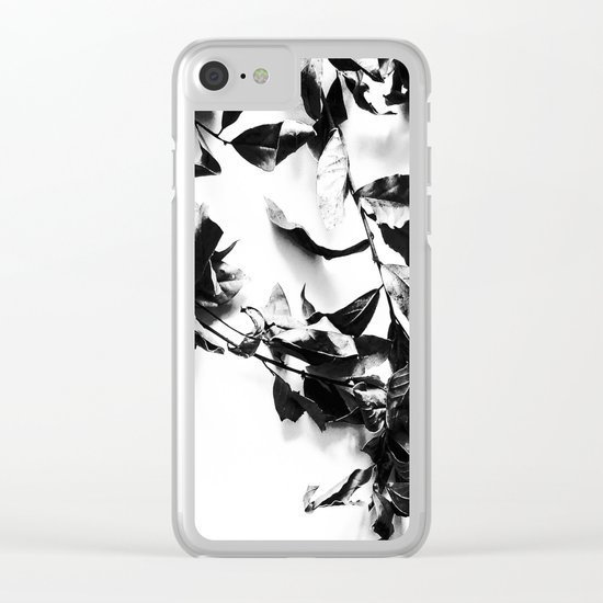 Bay leaves 4 Clear iPhone Case