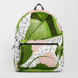 Blushing Leaves #illustration #painting Backpack