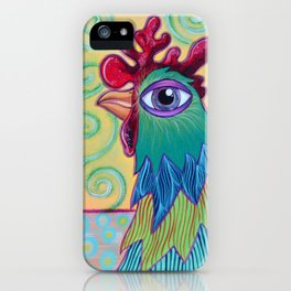 Chicken in the Vines iPhone Case