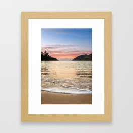 Kauai Sunrise - Tropical Sunrise in Hawaii Framed Art Print