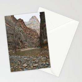 Zion III- The Narrows Stationery Cards