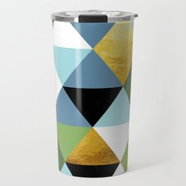 Geometric Abstract 81 Travel Mug