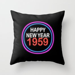 Happy New Year (1959) Throw Pillow