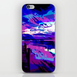 who was dragged down by the stone? iPhone Skin