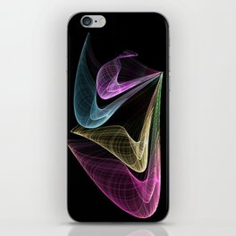 Fractal-Dance iPhone Skin