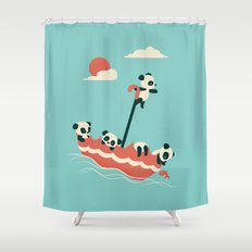 Float On Shower Curtain