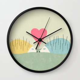 I was looking for you everywhere Wall Clock